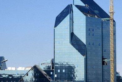 Столичными властями принято решение достроить бизнес-центр «Зенит»