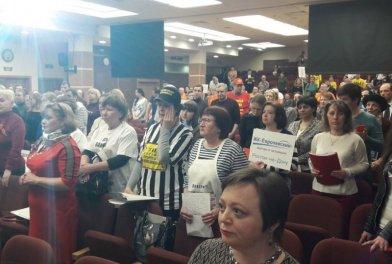 В столице состоялся официальный съезд обманутых дольщиков