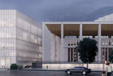 Реконструкция МДМ: дворец станет творческим и более функциональным