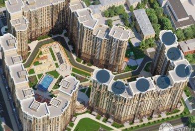 В элитном жилом комплексе «Династия» с начала года продано более 70% квартир