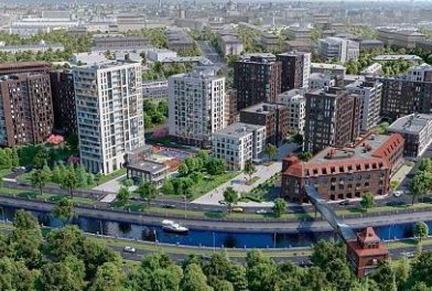 В Москве в ЖК «Резиденции архитекторов» построили еще 3 дома