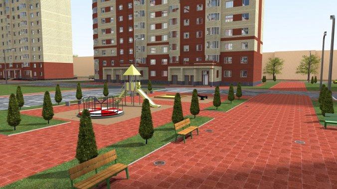 ЖК «Центральный» (Воскресенск) Благоустройств