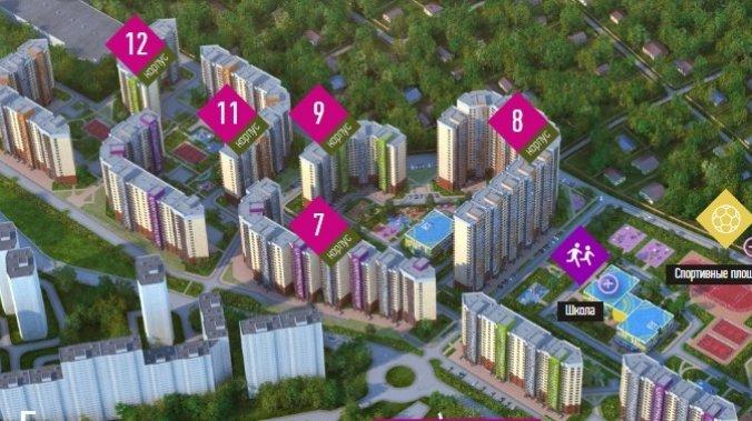 ЖК UP-квартал «Сколковский»