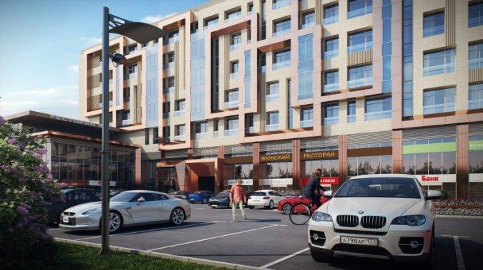ЖК ApartVille Fitness & Spa Resort («АпартВилле Фитнес энд Спа Резорт»)