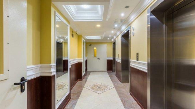 ЖК «Лосиный остров» Отделка лифтовых холлов